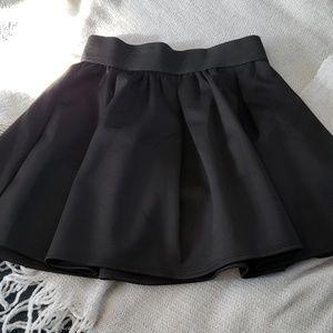 Girls dressy pleated black skirt